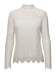 Piper Lace Blouse - OFFWHITE
