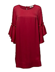 Pensee Dress - CHERRY