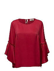 Pensee Blouse - CHERRY