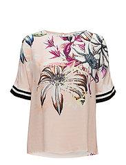 Palma Fleur Blouse - ROSE