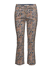 Ivana Paisley Pant - STRONG PEACH