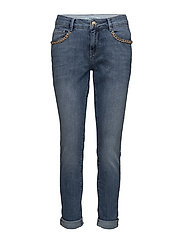 Bradford Chain Jeans - LIGHT BLUE DENIM