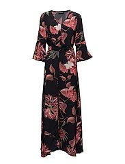 Tulum Scala Dress - ROSE PRINT