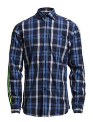 Marcon Shirt - Blue Check