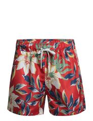 Bardoz Shorts - Red Flower