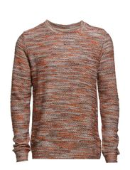 Dobby Sweater - Brown