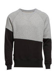 Block Sweat - Grey Melange