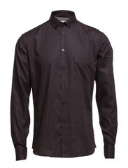 Omar Shirt - Black Oxford