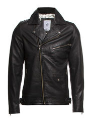 Bong Leather Jacket - Black