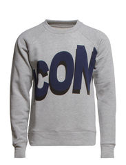 Icon Sweat - Grey Melange