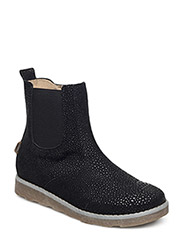 Girls Chelsea bot - BLACK DOTTED