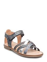 Girls sandal open back - ANTRAZITE 189