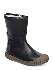 Girls zip TEX boot - BLACK