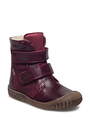 Unisex - Junior TEX boot - 783/DARKBURGUNDY