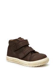 Unisex Double Velcro Shoe - Brown