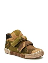 Boy Basket Boot - Camo. Army
