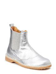Chelsea boot, Girl - Silver