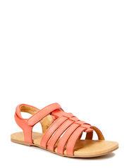 Girls basic sandal - Fusion Coral