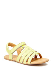 Girls basic sandal - Lemon