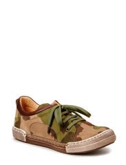 Boys lace shoe - Camo. Army