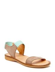 Girls Elastic sandal - Khaki