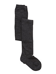 TIGHTS SOLID PLAIN WOOL - ANTHRACITE