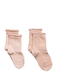 ANKLE BETTY 2pk 77074/77104 - PEACHED