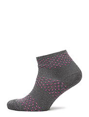ANKLE NYNNE m lurex - 218/NEON PINK