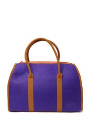 Garfield Large Tote - Royal purple