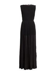 DRESS - Black/Dark blue