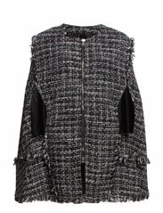 COAT - Black Tweed