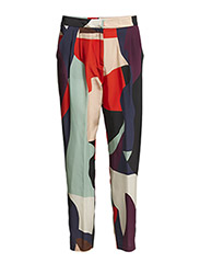 TROUSERS - MULTI COLOURED