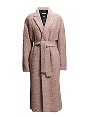 COAT - POWDER PINK
