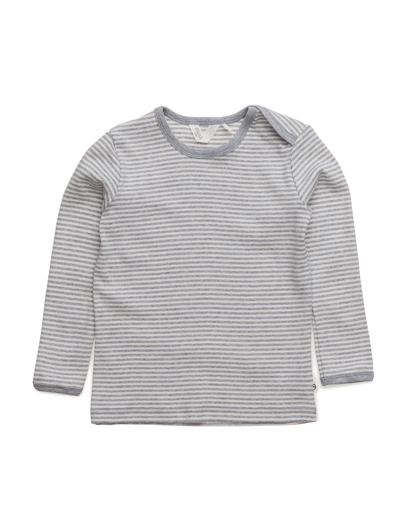 mã¼sli by green cotton – Stripe l/sl t på boozt.com dk