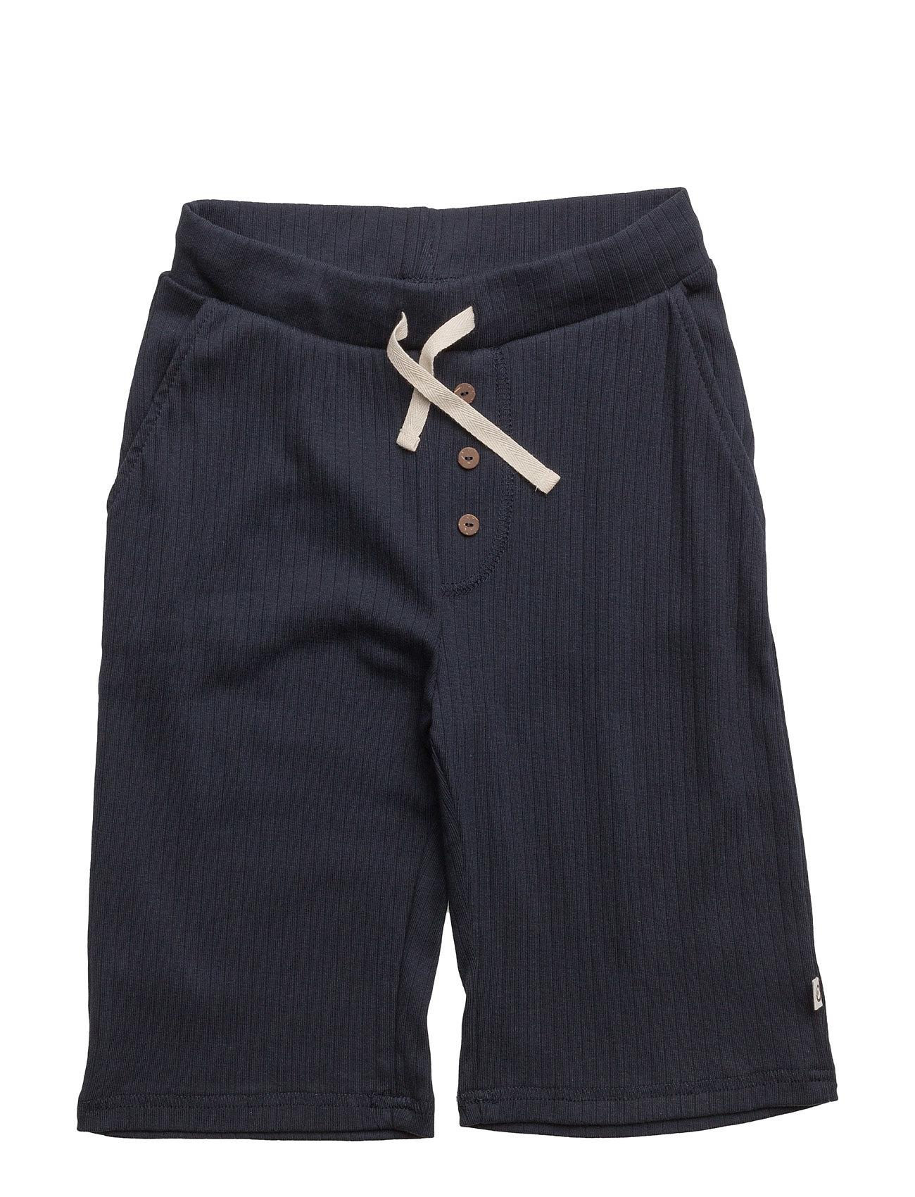 Cozy Shorts Müsli by Green Cotton  til Børn i Navy blå
