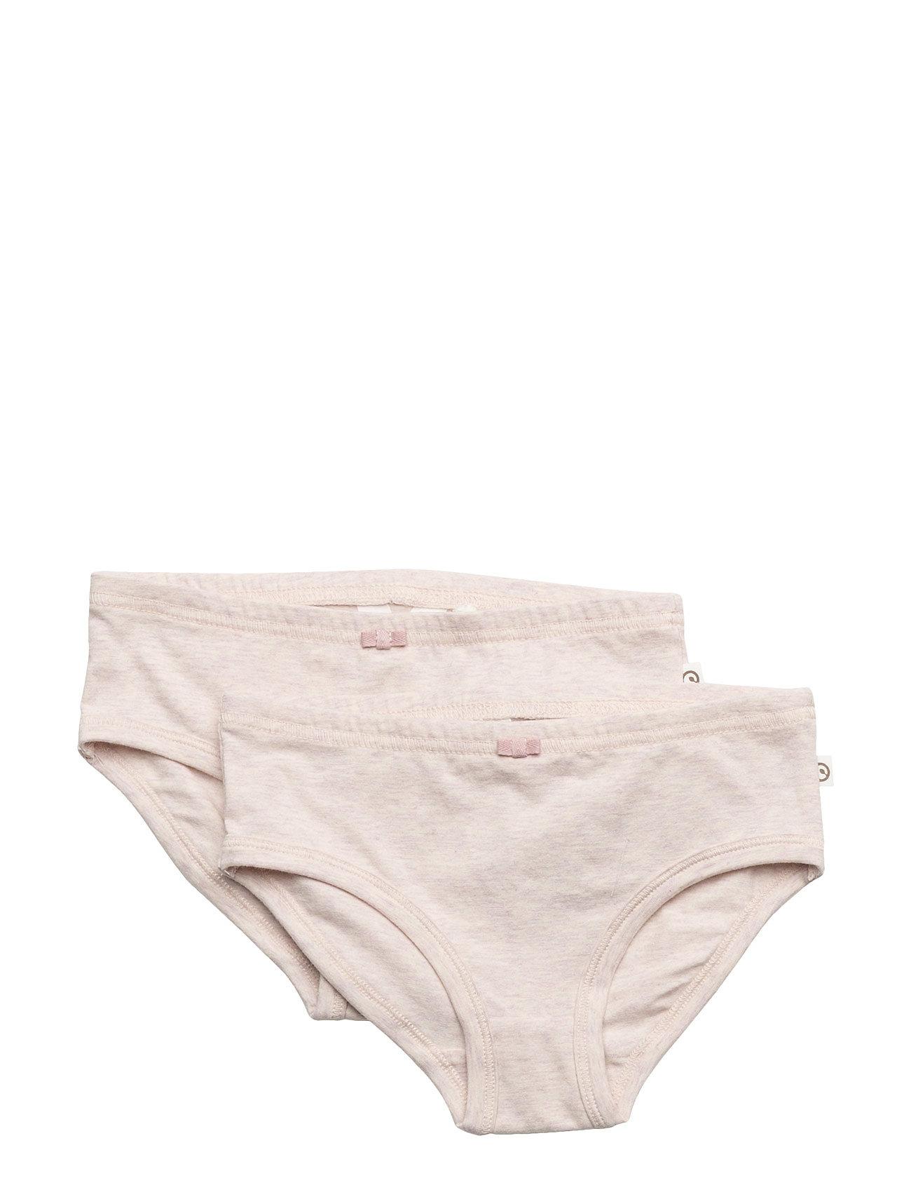 Cozy me underpants girl 2-pack fra mã¼sli by green cotton fra boozt.com dk