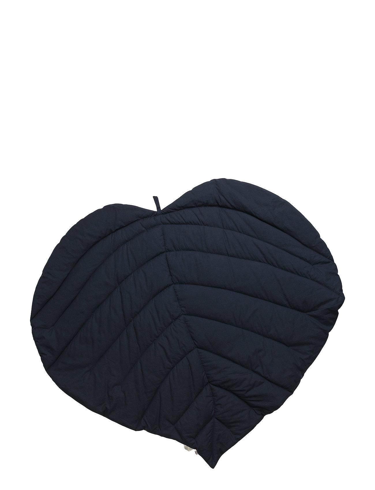 Leaf Blanket Müsli by Green Cotton Accessories til Børn i Navy blå