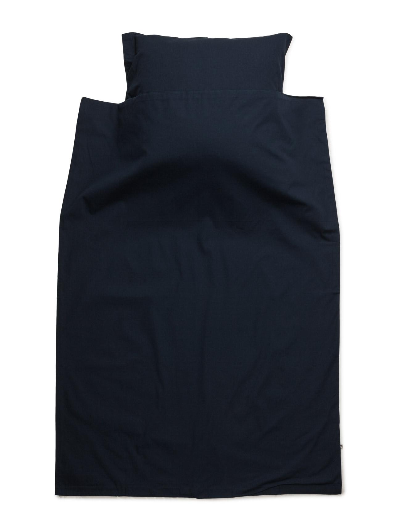 Solid Bed Linen Junior Müsli by Green Cotton Sengetøj & Lagener til Børn i Navy blå