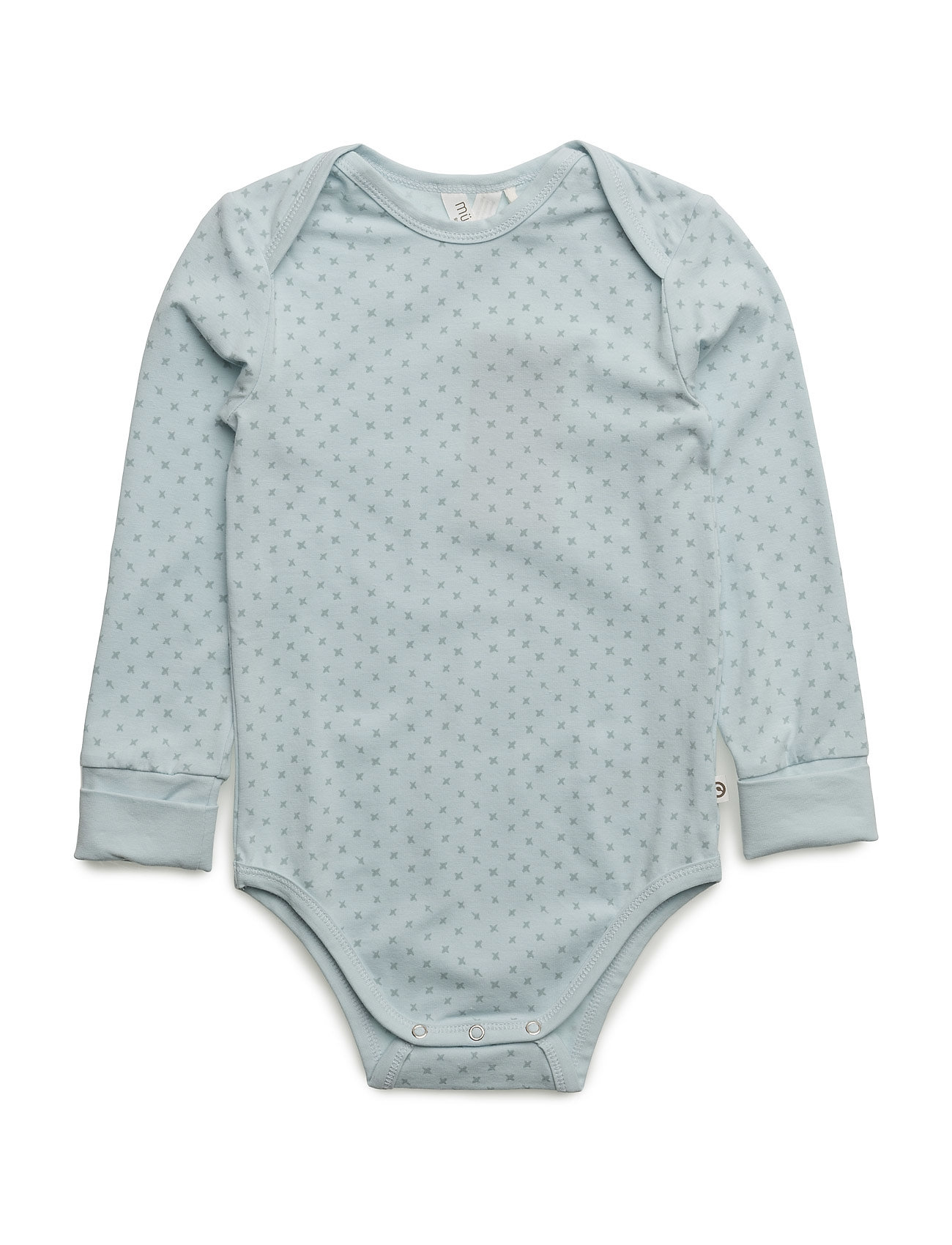 Cross L/Sl Body Müsli by Green Cotton Langærmede bodies til Børn i
