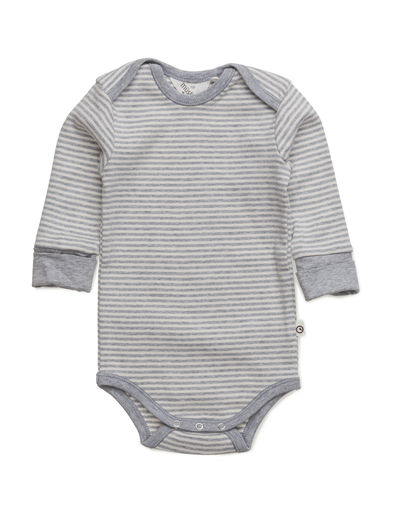 mã¼sli by green cotton Stripe l/sl body på boozt.com dk