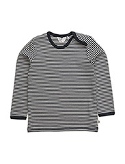 Stripe l/sl T - NAVY