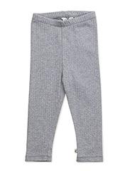 Cozy leggings baby - PALE GREYMARL