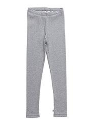 Cozy leggings - PALE GREYMARL