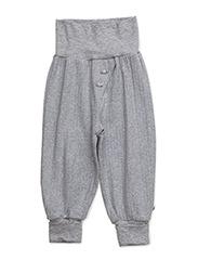 Cozy pants - PALE GREYMARL