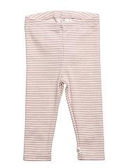 Stripe leggings baby - ROSE