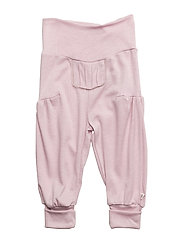 Woolly silk pants girl - ROSE