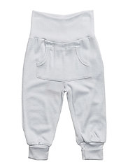 Woolly silk pants boy - BLUE