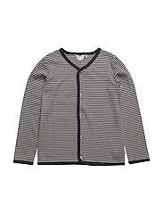 Stripe cardigan - NAVY