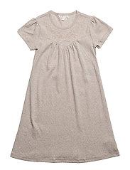 Bedtime dress - BEIGE MELANGE