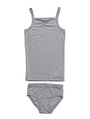 Cozy me underwear girl - PALE GREYMARL